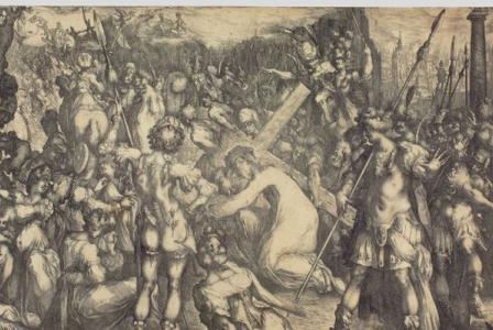 Jacques de BELLANGE       :  Le Christ portant la Croix