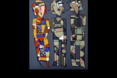 Paul FLICKINGER       :    Trois personnages