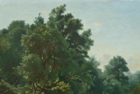 François-Louis FRANCAIS       :        Soir d'été près du ruisseau