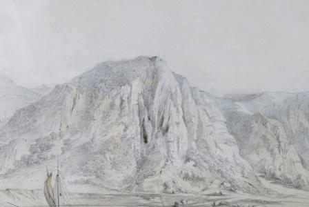 Auguste MIGETTE       :  Paysage de Basse-Moselle