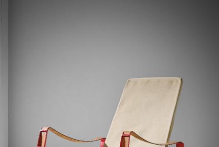 """Jean PROUVÉ       :   Important """"Cité"""" armchair"""