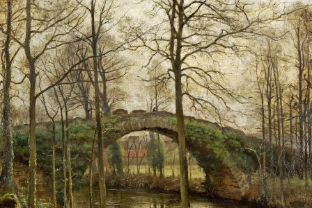 Alfred RENAUDIN       :  Pont à Fontannes