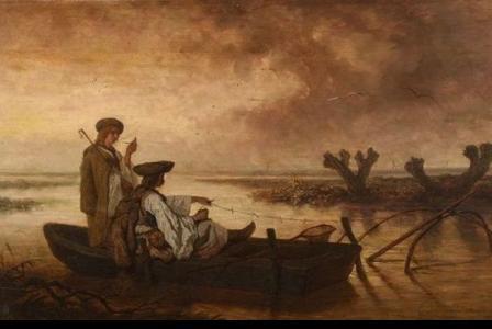 Théodore VALERIO         :     Les pêcheurs de la Theiss