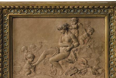 Claude CLODION        :        La toilette de Venus