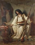 """Théodore VALERIO  """"La mère du guerrier"""""""