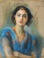 Rose TEITGEN-OBEURER        :   Le châle bleu
