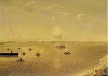 Anselme GRINEVALD       :  Assaut sur Fort Sumter, 7 avril 1863