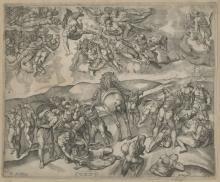 """Nicolas BEATRIZET  """"La conversion de Saint Paul"""""""