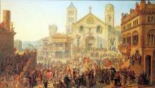 """Auguste MIGETTE  """"Commencement de la République messine"""""""