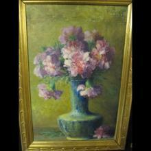 H. GREFF       :  Vase de fleurs