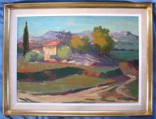Pierre LEMARCHAND        :  Paysage de Provence