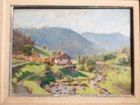 O_Henri ROVEL - La scierie du Rudlin