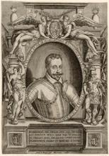 """Alexandre VALLÉE   """"Portrait du Duc Charles III de Lorraine"""""""